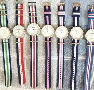 韓國帆布手錶🕰