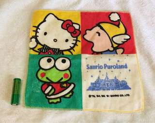 Sanrio puroland 毛巾仔 (絶版)