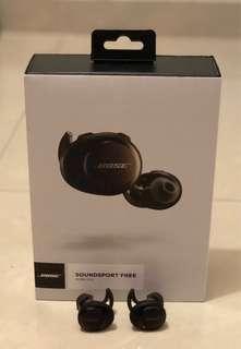 Bose soundsport free 無線藍芽耳機