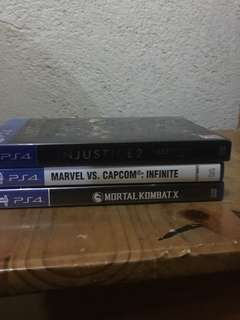 PS4 Games For sale and trade