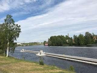 。芬蘭的小鎮Joensuu。