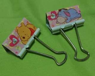 Brand New Blinder Clip Winne the pooh
