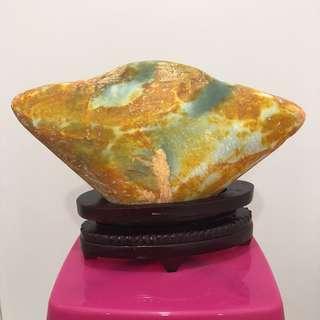 岫玉原石 (元包型)9.7kg