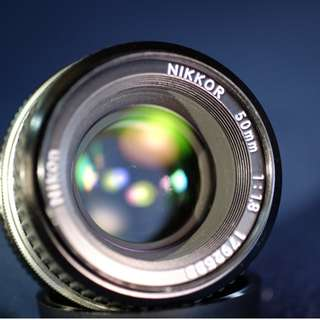 Nikon 50mm f1.8 ai (used)