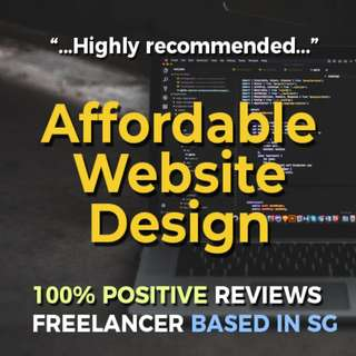 Website Design and Development (Affordable / Premium Packages)