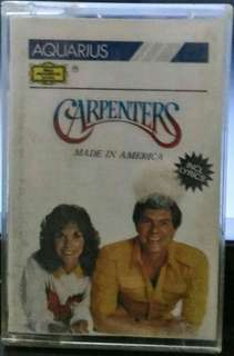 Kaset Pita : Carpenters - Made in America