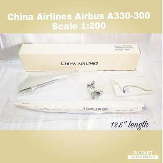 Collectable China Airlines Aeroplane Model. Unused, Mint Condition & still inside plastic wrap. Comes with Box. Refer to photo for detail & size. $30 Offer. Sms 96337309.