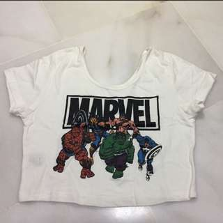 Marvel cropped top