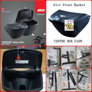1506**--GIVI Front Box G10N With Key Lock...Yamaha Sniper, Yamaha jupiter, Spark, Yamaha 125Z, Yamaha Sniper 150, Honda Wave Etc.
