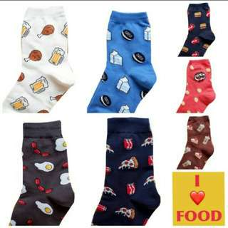 Food Socks (All designs are available)