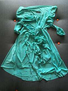 Twenty3 tiffany blue convertible dress