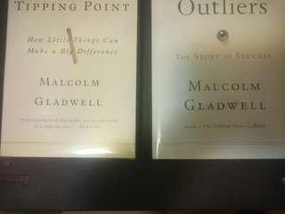 Malcom Gladwell books