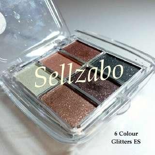 Used 6 Colour Palette Glittering Eyeshadows Eyes Shadow Eyesshadows Colour Sellzabo Makeup Cosmetics Beauty