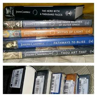 Joseph Campbell $170+ worth of hard cover books