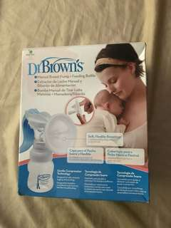 Dr.Brown manual breast pump