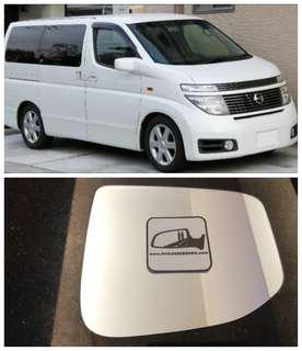 Nissan Elgrand side mirror all models and series