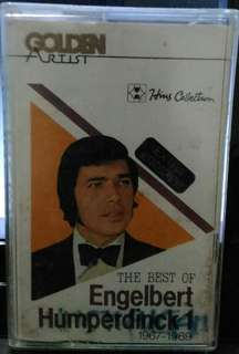 Kaset Pita : The Best of Engelbert Humperdinck 1 1967-1969
