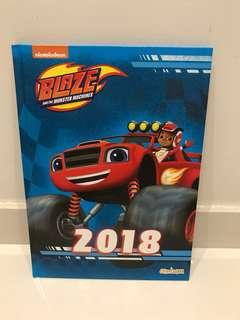 Blaze & The Monster Machines' 2018 Activities Book