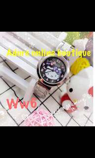 💎HELLO KITTY SILVER WATCH