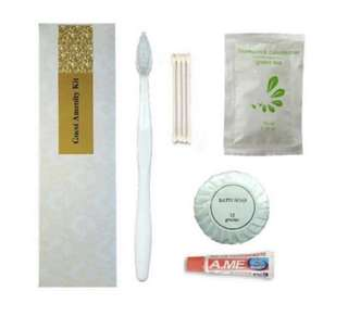 Hotel & Condo Guest Amenity Kit Package 2