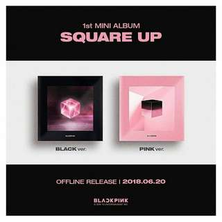 [PREORDER] BLACKPINK 1ST MINI ALBUM SQUARE UP