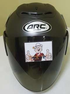 1506*** ARC RITZ Matt Black with tinted visor Helmet For Sale 😁😁Thanks To All My Buyer Support 🐇🐇 Yamaha, Honda, Suzuki
