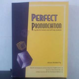Buku Perfect Pronunciation , A Guide For Trainers and self - help students