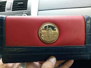 Almost new US Polo ASSN. long wallet