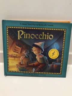 Pop-up book: Pinocchio