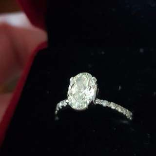 Certified Diamond Engagement Ring