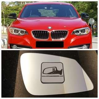 Bmw all series and models side mirror BMW F20 F21 F30 F31 F31 F34 E84