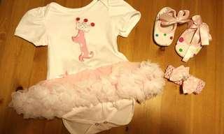 女嬰洋裝 週歲