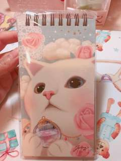 Choo choo cat note book
