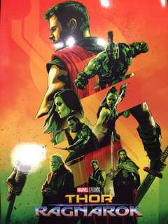 Thor Ragnarok A3 movie poster