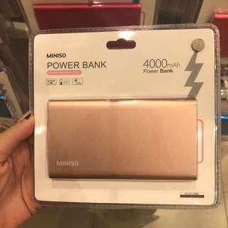 new! powerbank 4000mah