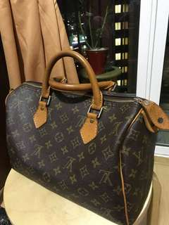 LV Speedy 30 From Japan (Not sure if authenthic)