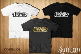 League of Legends tees