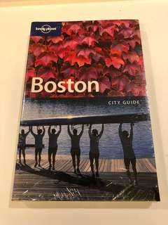 New and Sealed Lonely Planet Boston City Guide
