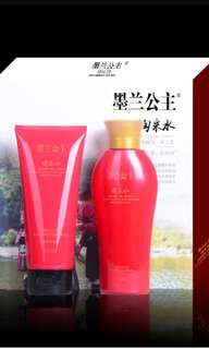 Mo Lan Hair Shampoo & Conditioner / 墨兰公主