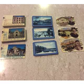 Collectible phonecards