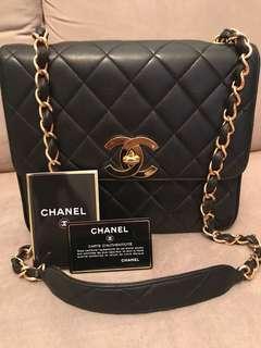 Chanel Vintage 25cm Square Flap Bag