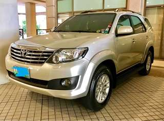 2012 Toyota Fortuner 2.7 G A/T 4x2