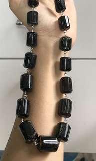 Amber necklace for men