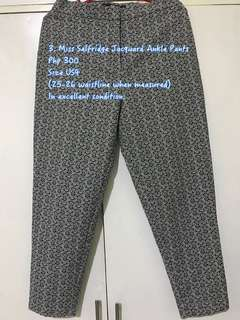 Miss Selfridge Ankle Pants