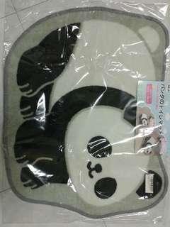 可愛熊貓地毯
