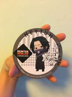 Hunter X Hunter 幻影旅團杯墊