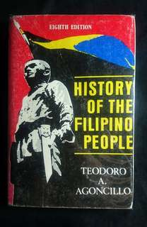 History of the Filipino People by Teodoro Agoncillo