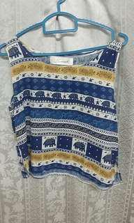 Thailand Clearance Stock Sleeveless Top