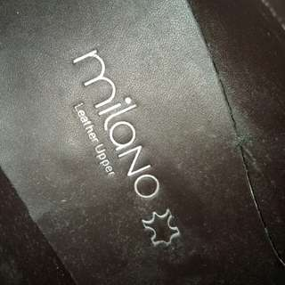 Brandnew Milano leather Shoes (never been used) RUSSHH!