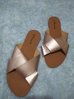 RSGW hardsole sandals (size38/Rosegold)